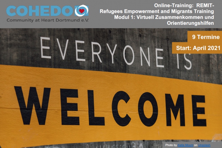 REMIT - Refugees Empowerment and Migrants Training Modul 1
