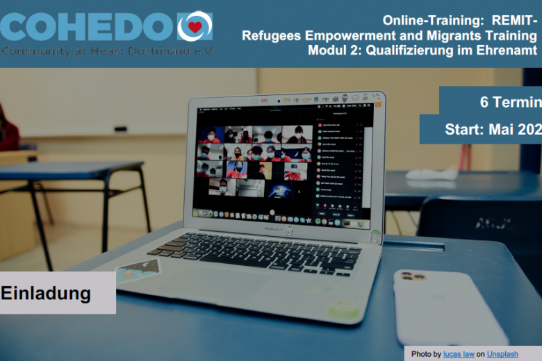 REMIT - Refugees Empowerment and Migrants Training Modul 2: Qualifizierung im Ehrenamt